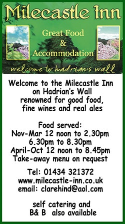 The Milecastle Inn