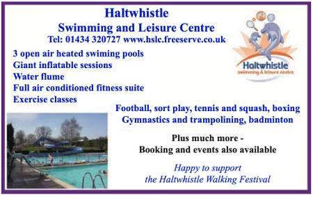 haltwhistle leisure centre