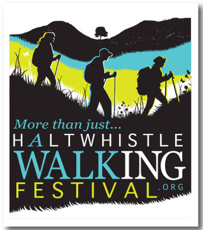 Haltwhistle Walking festival Logo
